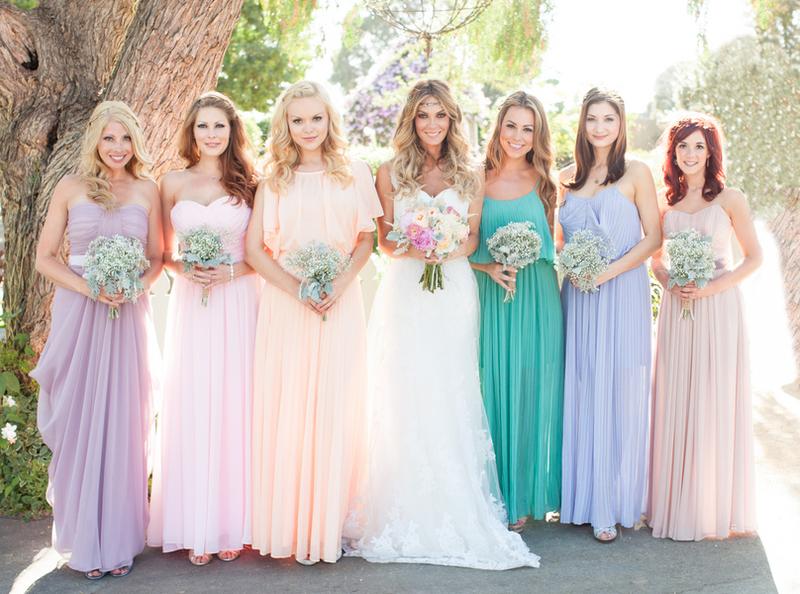 Фото платье для подруги невесты