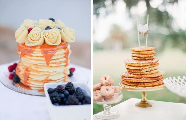 Blaire pancake wedding