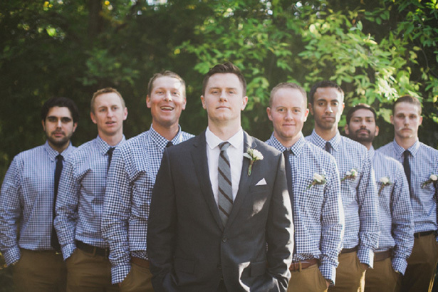 Wedding Day Ideas For Groomsmen : ... wedding. For a more coordinated look, have the groomsmen match their