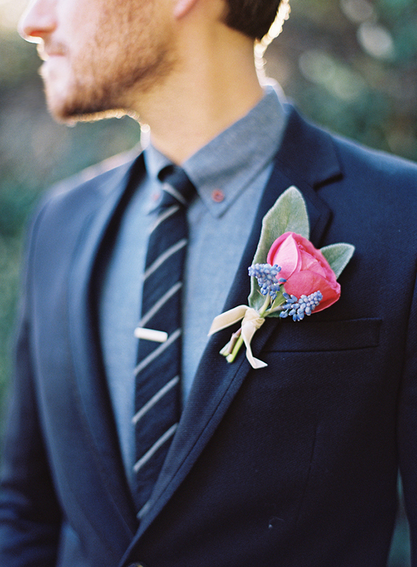 chambray groom