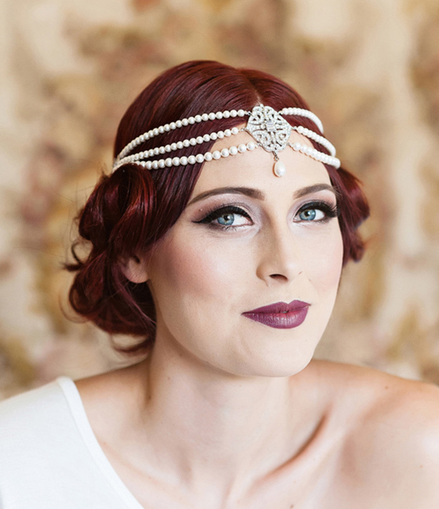 gatsby wedding makeup