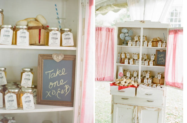 6 Classic Favor Display Ideas