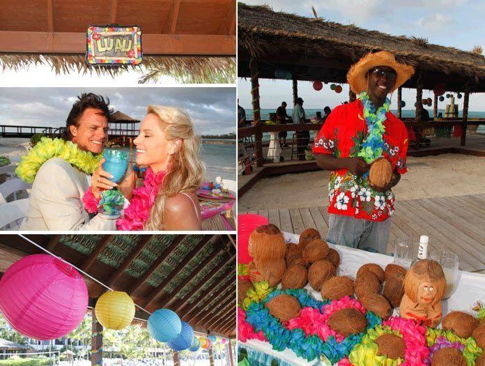 Luau Theme Weddings