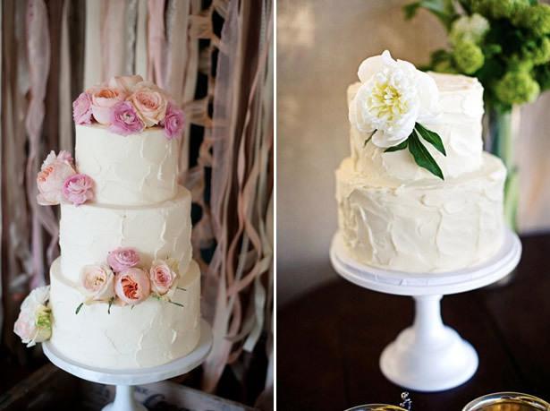 The Great Cake Debate Sugar Vs Fresh Flowers Project Wedding