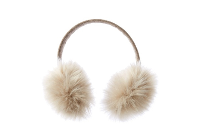 coldwater creek fur ear muffs