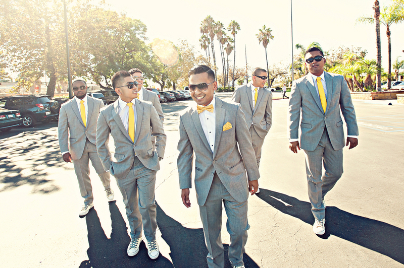 yellow ties