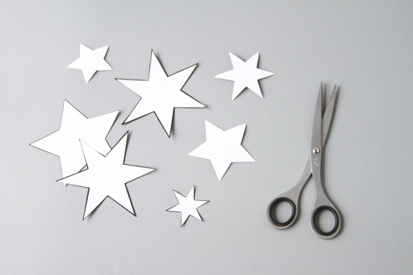 DIY: Starry Night Cake Toppers
