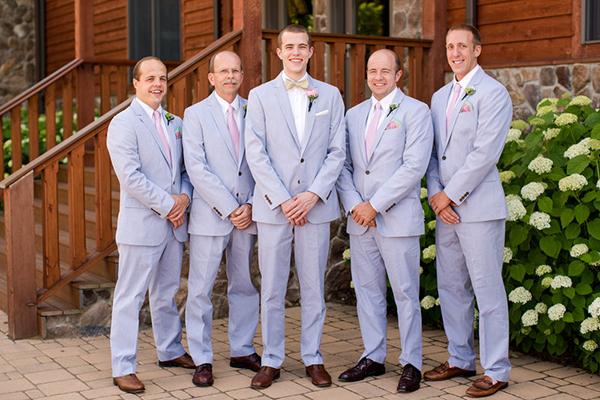 seersucker groomsmen