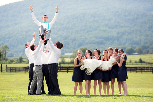 funny wedding party pictures
