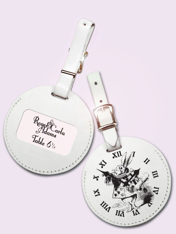 Alice-Themed Travel Tag / Place Card Holder
