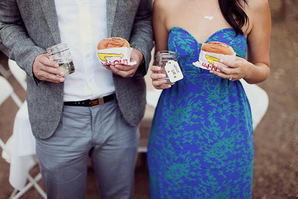 fast food wedding favor