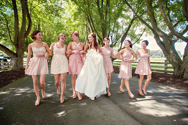 pastel pink dresses