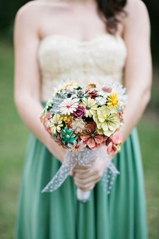 plastic flower bouquets