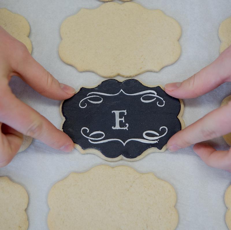 Monogram Cookies Project