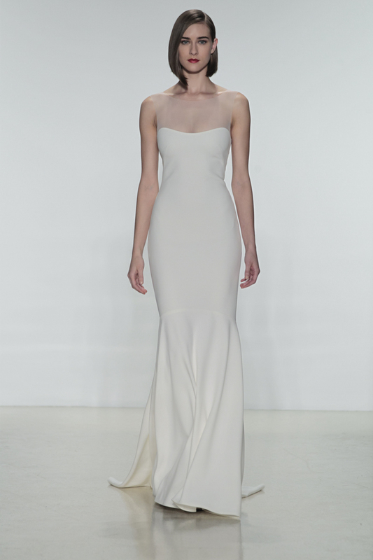 amsale spring 2015 wedding dress