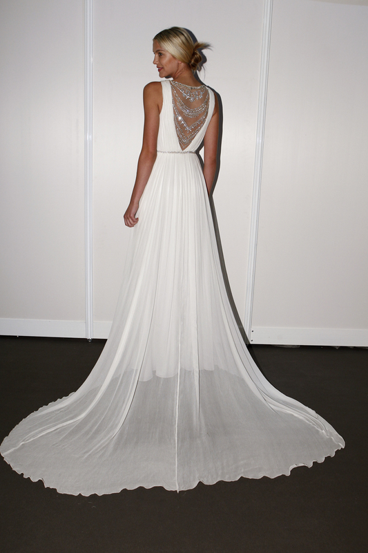 nicole miller spring 2015 wedding dress