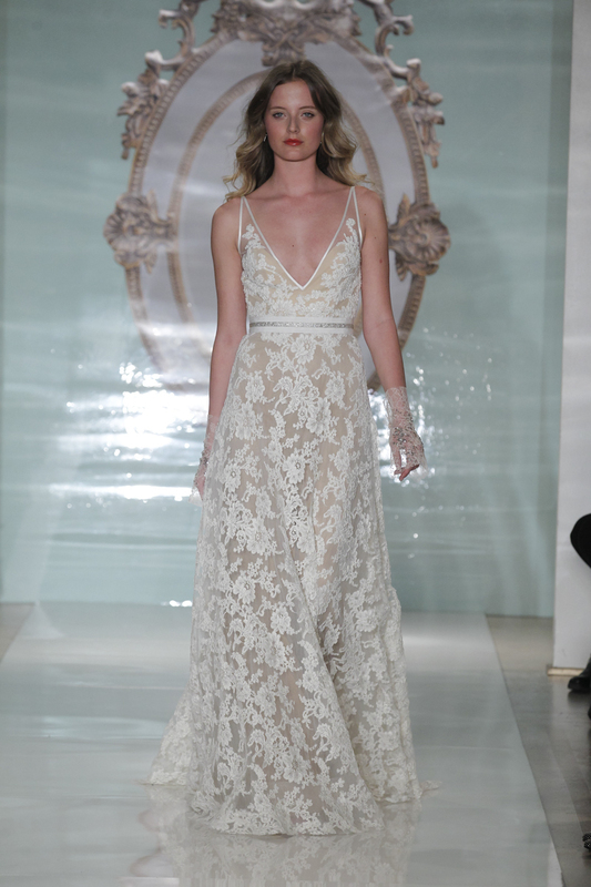 reem acra spring 2015 wedding dress