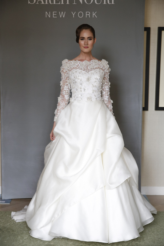 sareh nouri spring 2015 wedding dresses