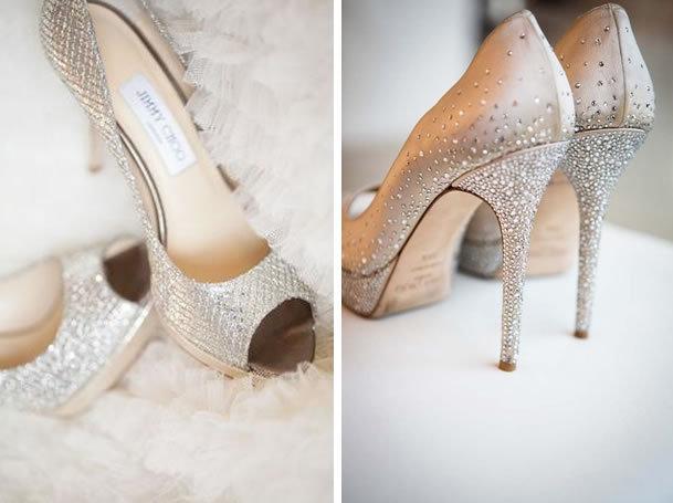 shimmering stilettos
