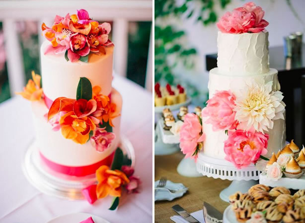 blossoming cake