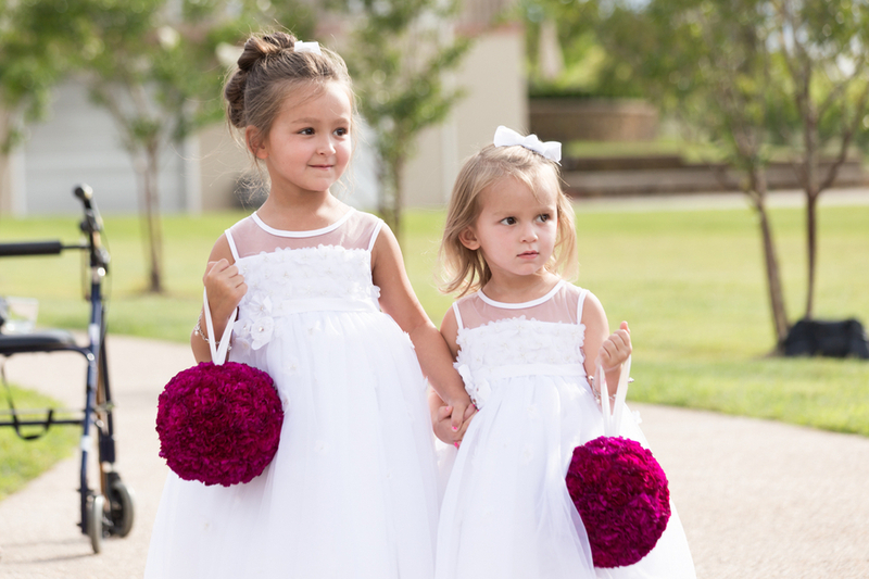 Wedding Flowers: wedding alternatives to flower girl